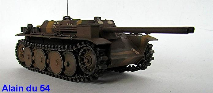 Rutscher Panzerkleinzerstoerer E-5 1/35 MBK Amusing Hobby  IMG_8141