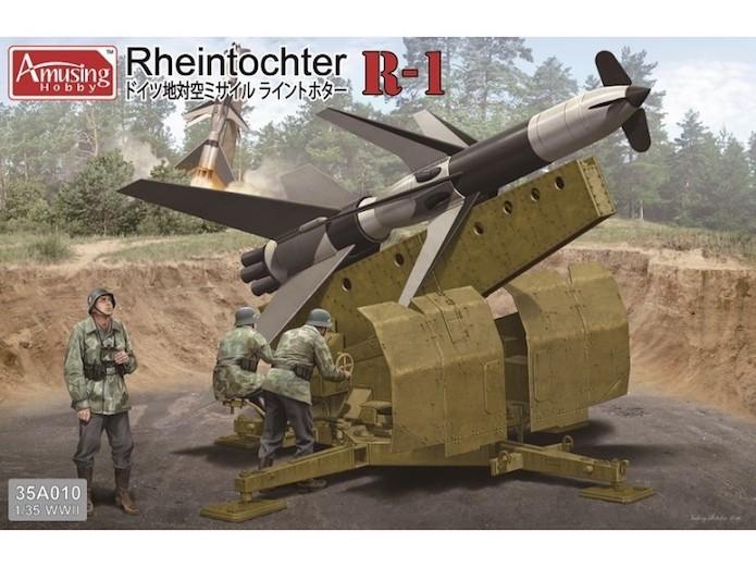 E-100 Panzer Weapon Carrier with Rheintochter R-1 1/35 Mix Amusing Hobby 21