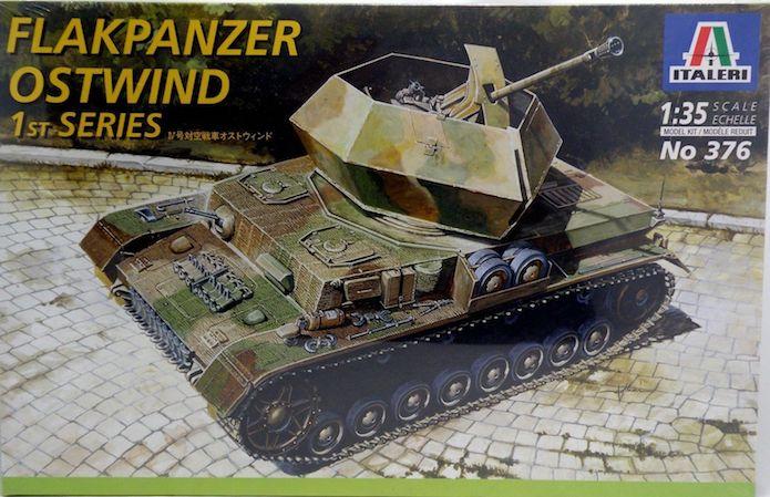 Flakpanzer III 37mm Ostwind 1/35 Mix Italeri/Dragon 2