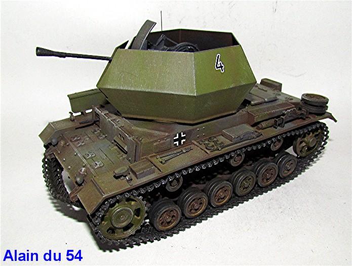 Flakpanzer III 37mm Ostwind 1/35 Mix Italeri/Dragon IMG_8444