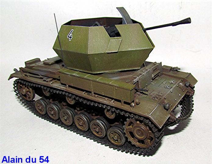 Flakpanzer III 37mm Ostwind 1/35 Mix Italeri/Dragon IMG_8445