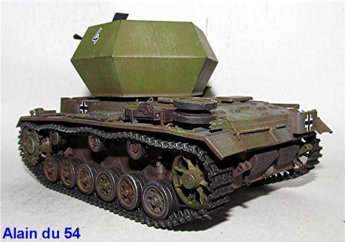 Flakpanzer III 37mm Ostwind 1/35 Mix Italeri/Dragon IMG_8447