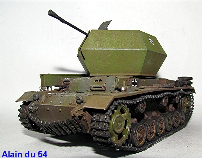 Flakpanzer III 37mm Ostwind 1/35 Mix Italeri/Dragon IMG_8449