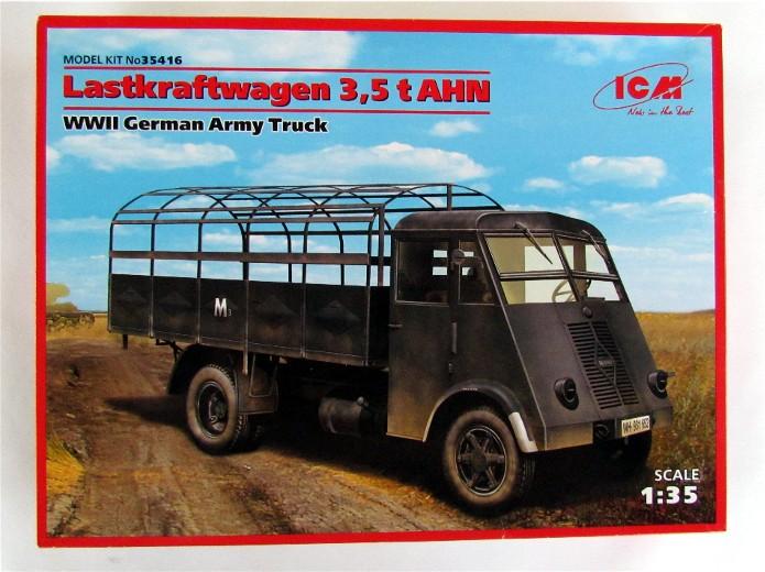 Lastkraftwagen 3,5 t AHN 1/35 ICM FINI IMG_1082
