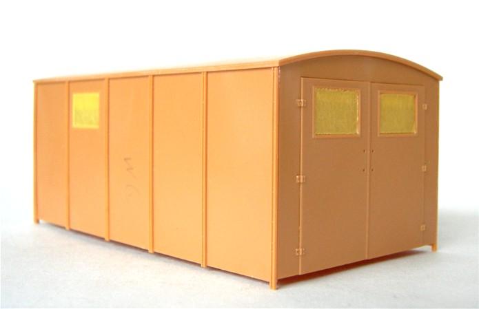 LastKraftWagen 3.5 T Ahn Ambulance Truck 1/35 ICM shelter sanitaire FINI DSCN0916