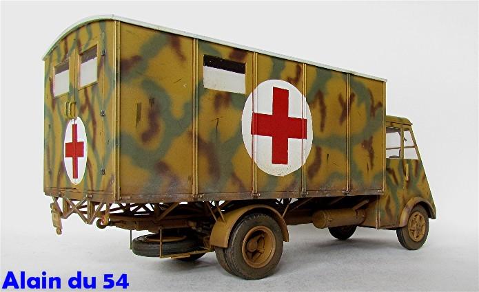 LastKraftWagen 3.5 T Ahn Ambulance Truck 1/35 ICM shelter sanitaire FINI - Page 2 AIMG_3442