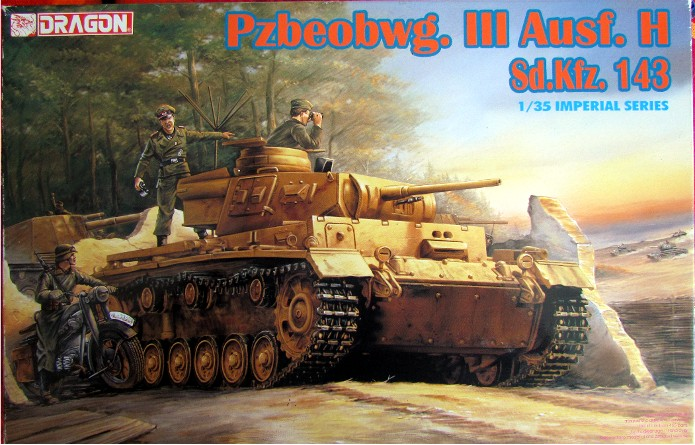 Pzbeobwg. III Ausf. H, Sd.Kfz. 143 1/35 Dragon Imperial Series FINI IMG_2463