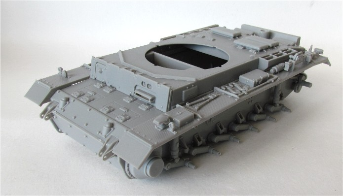 Pzbeobwg. III Ausf. H, Sd.Kfz. 143 1/35 Dragon Imperial Series FINI IMG_2568