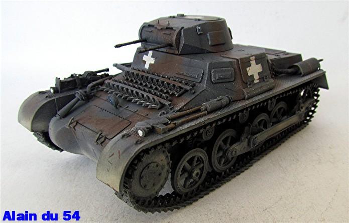 Panzer I Ausf A 1/35 Conversion base Azimut/ADV + boîte à rabiot. FINI Sm_3288