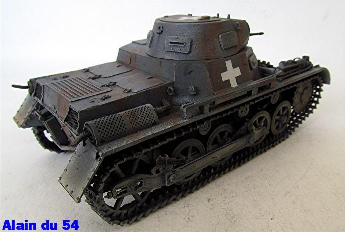 Panzer I Ausf A 1/35 Conversion base Azimut/ADV + boîte à rabiot. FINI Sm_3290