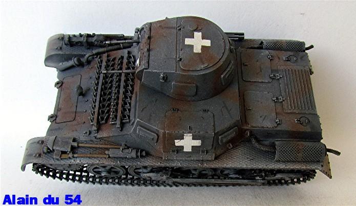 Panzer I Ausf A 1/35 Conversion base Azimut/ADV + boîte à rabiot. FINI Sm_3292