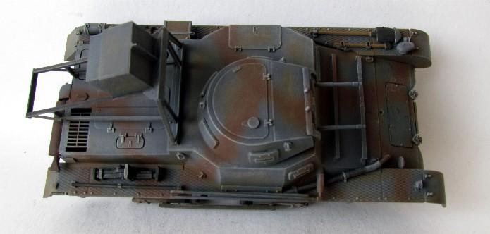 Ladungsleger auf Panzerkampfwagen I Ausf  B  1/35 Italeri et scratch FINI IMG_3166