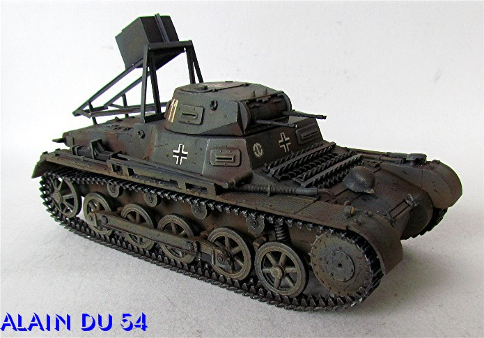 Ladungsleger auf Panzerkampfwagen I Ausf  B  1/35 Italeri et scratch FINI A_3212