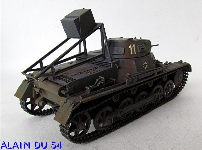 Ladungsleger auf Panzerkampfwagen I Ausf  B  1/35 Italeri et scratch FINI A_3215