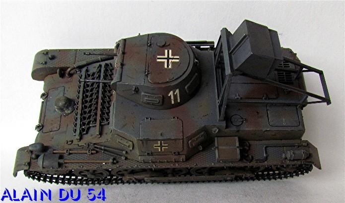 Ladungsleger auf Panzerkampfwagen I Ausf  B  1/35 Italeri et scratch FINI A_3217