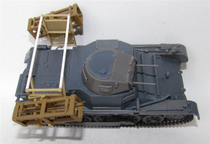 Panzer I Ausf. B mit Wurfrahmen 40 1/35 base Italeri + Tamiya FINI IMG_3038