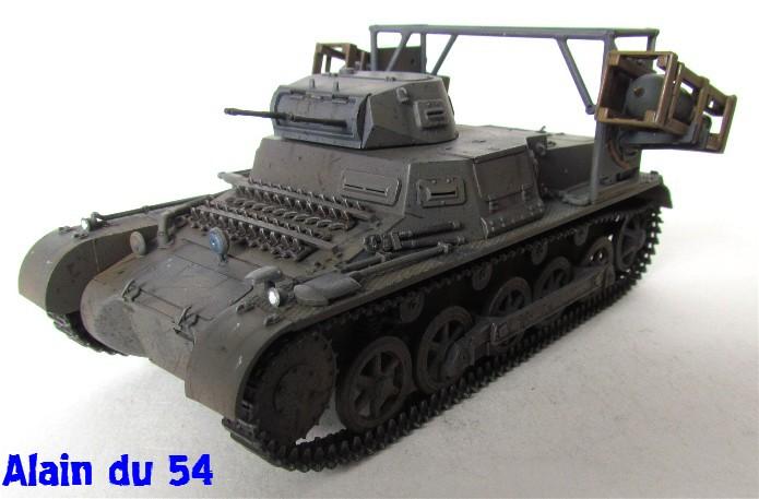 Panzer I Ausf. B mit Wurfrahmen 40 1/35 base Italeri + Tamiya FINI A_3124
