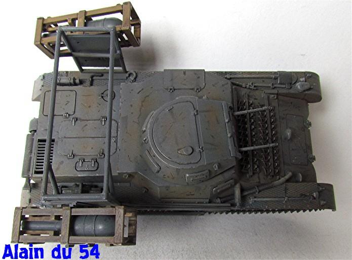 Panzer I Ausf. B mit Wurfrahmen 40 1/35 base Italeri + Tamiya FINI A_3129