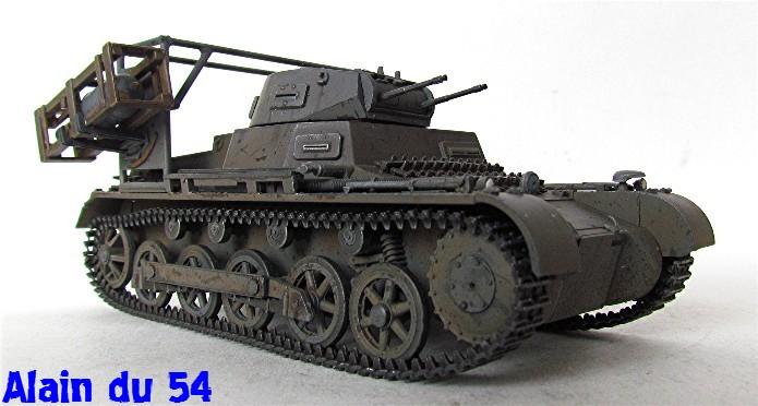 Panzer I Ausf. B mit Wurfrahmen 40 1/35 base Italeri + Tamiya FINI A_3137