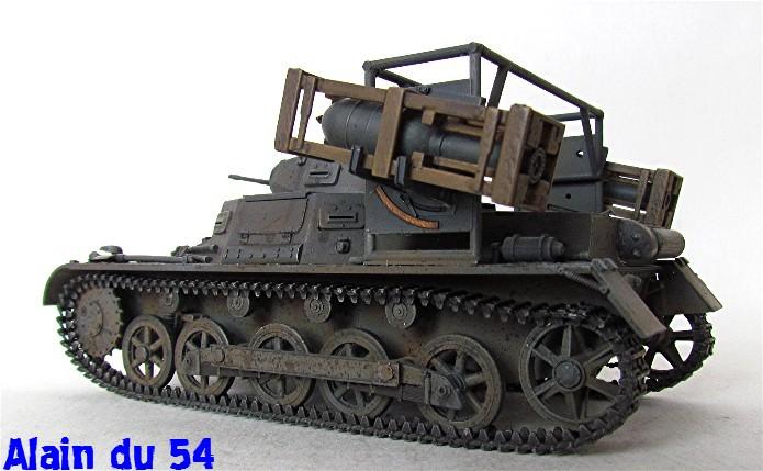 Panzer I Ausf. B mit Wurfrahmen 40 1/35 base Italeri + Tamiya FINI A_3139