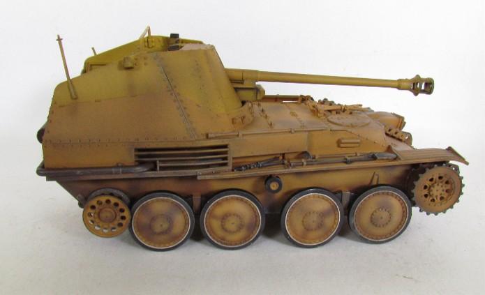 German Tank Destroyer MARDER III M Tamiya 1/35 FINI IMG_0904