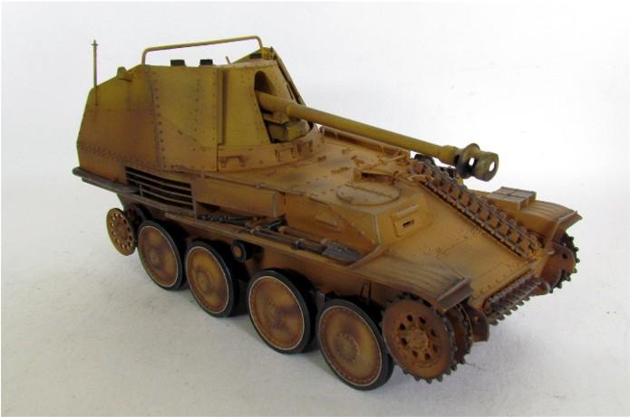 German Tank Destroyer MARDER III M Tamiya 1/35 FINI IMG_0905