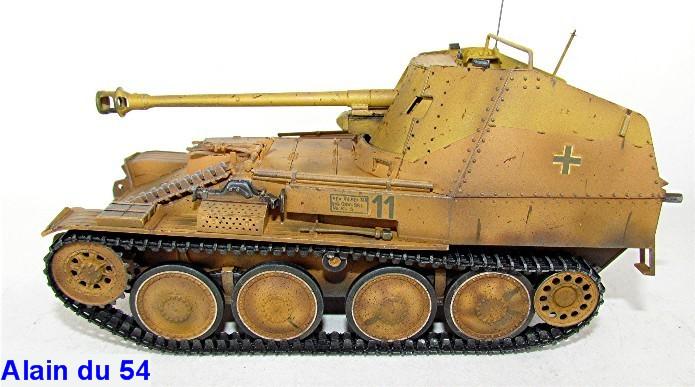 German Tank Destroyer MARDER III M Tamiya 1/35 FINI IMG_0933