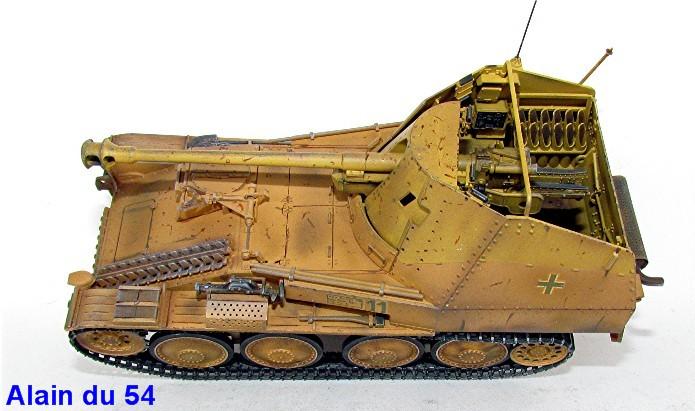 German Tank Destroyer MARDER III M Tamiya 1/35 FINI IMG_0938