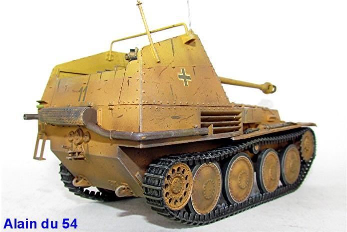 German Tank Destroyer MARDER III M Tamiya 1/35 FINI IMG_0948