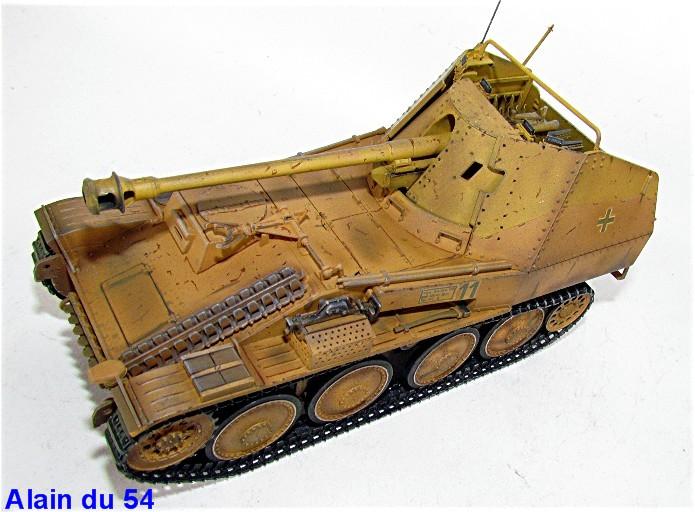 German Tank Destroyer MARDER III M Tamiya 1/35 FINI IMG_0952