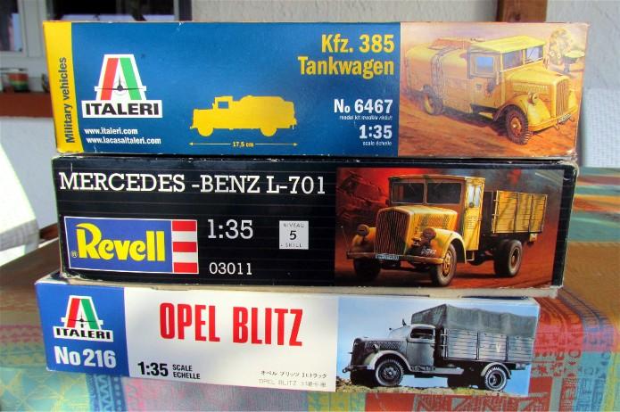 Opel Blitz cabine bois shelter transmissions 1/35 Boîte à rabiot camo trois tons/hiver FINI IMG_1203
