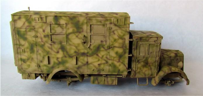 Opel Blitz cabine bois shelter transmissions 1/35 Boîte à rabiot camo trois tons/hiver FINI - Page 2 IMG_1645
