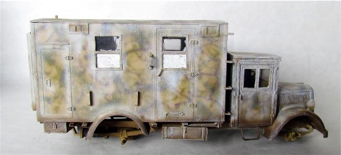 Opel Blitz cabine bois shelter transmissions 1/35 Boîte à rabiot camo trois tons/hiver FINI - Page 3 IMG_1658