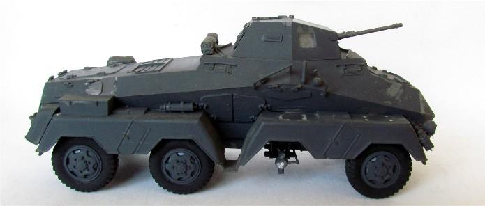 Sd.Kfz 231 (8 rads) Schwerer Panzerspähwagen 1/35 Tamiya ou l'art de faire du neuf avec du vieux FINI IMG_0172