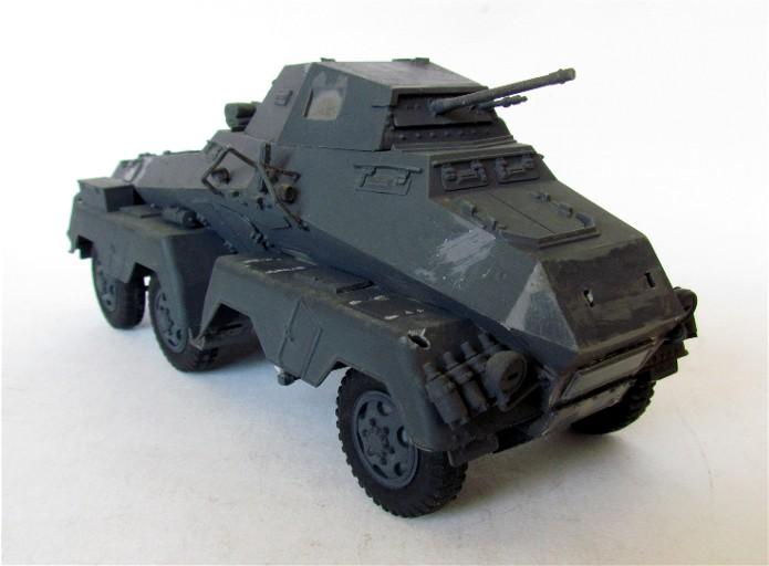Sd.Kfz 231 (8 rads) Schwerer Panzerspähwagen 1/35 Tamiya ou l'art de faire du neuf avec du vieux FINI IMG_0173