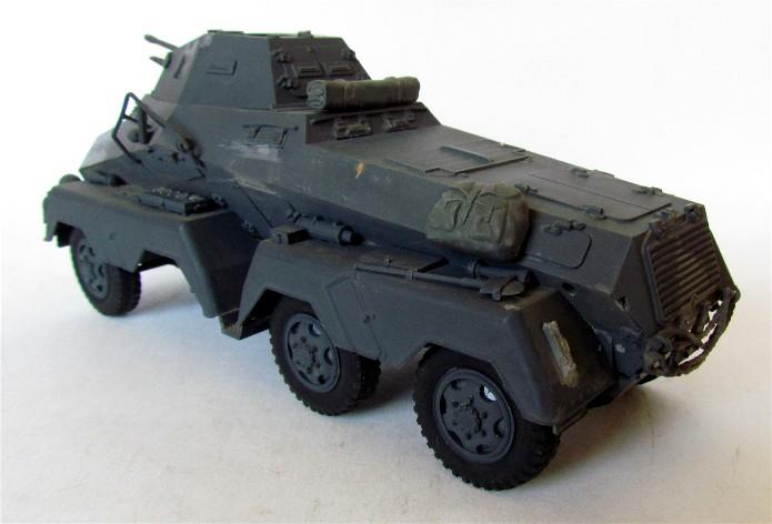 Sd.Kfz 231 (8 rads) Schwerer Panzerspähwagen 1/35 Tamiya ou l'art de faire du neuf avec du vieux FINI IMG_0174