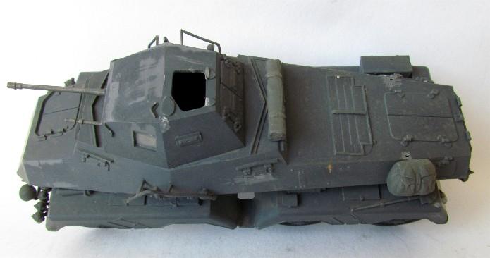 Sd.Kfz 231 (8 rads) Schwerer Panzerspähwagen 1/35 Tamiya ou l'art de faire du neuf avec du vieux FINI IMG_0175