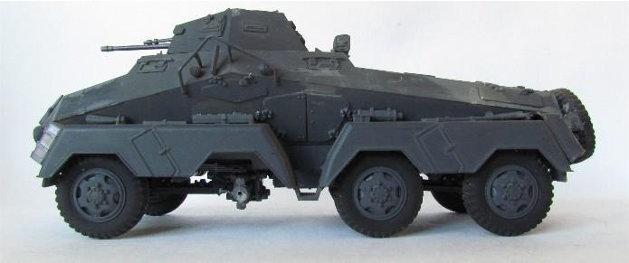Sd.Kfz 231 (8 rads) Schwerer Panzerspähwagen 1/35 Tamiya ou l'art de faire du neuf avec du vieux FINI IMG_0176