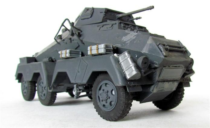 Sd.Kfz 231 (8 rads) Schwerer Panzerspähwagen 1/35 Tamiya ou l'art de faire du neuf avec du vieux FINI IMG_0181