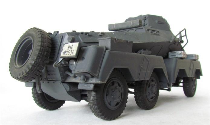 Sd.Kfz 231 (8 rads) Schwerer Panzerspähwagen 1/35 Tamiya ou l'art de faire du neuf avec du vieux FINI IMG_0182
