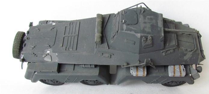 Sd.Kfz 231 (8 rads) Schwerer Panzerspähwagen 1/35 Tamiya ou l'art de faire du neuf avec du vieux FINI IMG_0183
