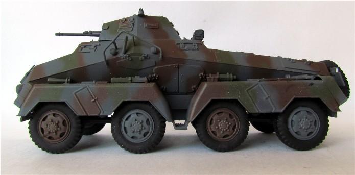 Sd.Kfz 231 (8 rads) Schwerer Panzerspähwagen 1/35 Tamiya ou l'art de faire du neuf avec du vieux FINI IMG_0196
