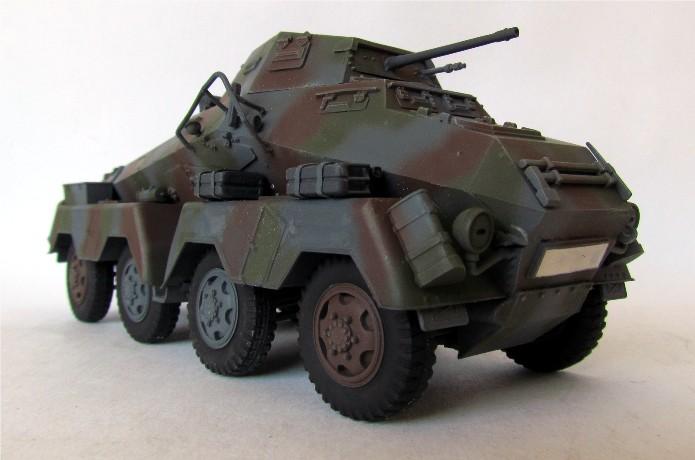 Sd.Kfz 231 (8 rads) Schwerer Panzerspähwagen 1/35 Tamiya ou l'art de faire du neuf avec du vieux FINI IMG_0197