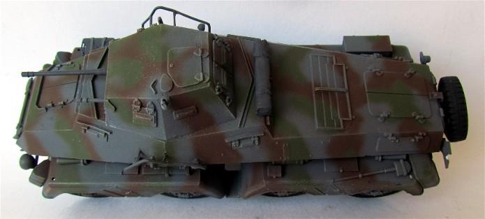 Sd.Kfz 231 (8 rads) Schwerer Panzerspähwagen 1/35 Tamiya ou l'art de faire du neuf avec du vieux FINI IMG_0199
