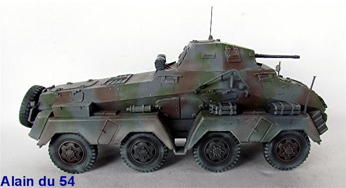 Sd.Kfz 231 (8 rads) Schwerer Panzerspähwagen 1/35 Tamiya ou l'art de faire du neuf avec du vieux FINI IMG_0225