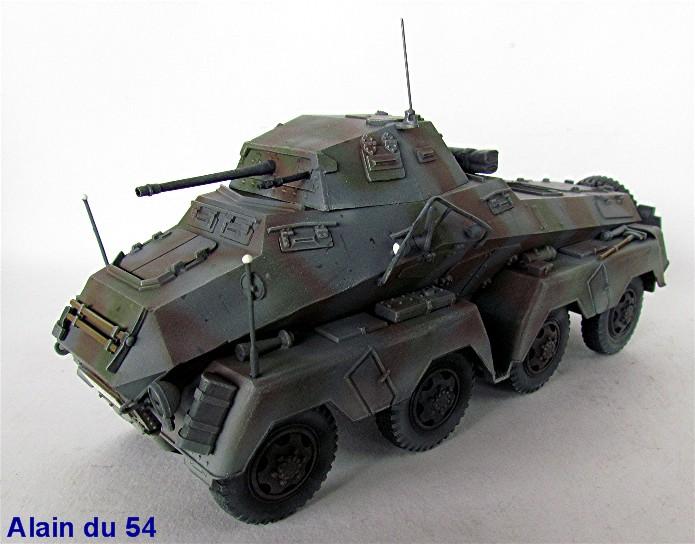 Sd.Kfz 231 (8 rads) Schwerer Panzerspähwagen 1/35 Tamiya ou l'art de faire du neuf avec du vieux FINI IMG_0227