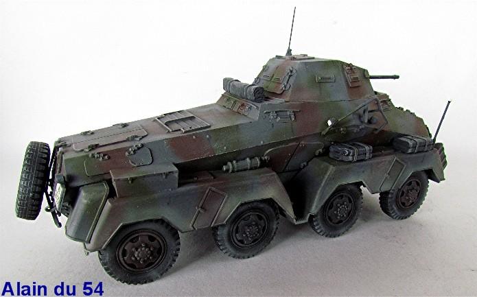 Sd.Kfz 231 (8 rads) Schwerer Panzerspähwagen 1/35 Tamiya ou l'art de faire du neuf avec du vieux FINI IMG_0230
