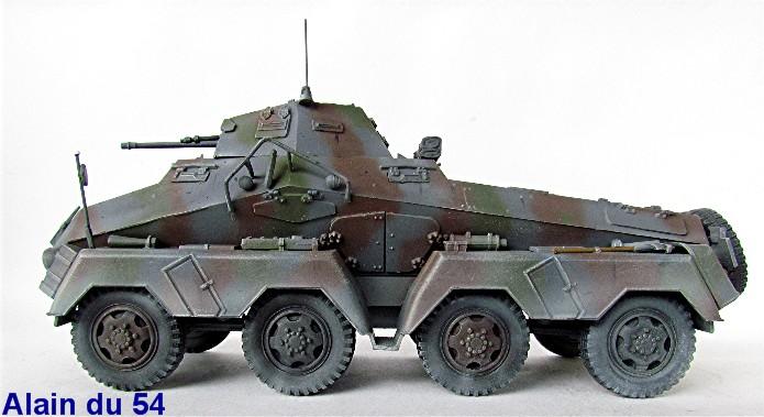 Sd.Kfz 231 (8 rads) Schwerer Panzerspähwagen 1/35 Tamiya ou l'art de faire du neuf avec du vieux FINI IMG_0239