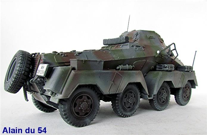 Sd.Kfz 231 (8 rads) Schwerer Panzerspähwagen 1/35 Tamiya ou l'art de faire du neuf avec du vieux FINI IMG_0242