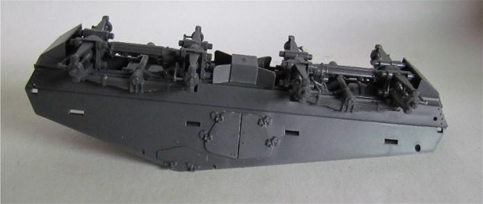 Sd.Kfz 232 (8 rads) Schwerer Panzerspähwagen 1/35 Tamiya FINI IMG_0070